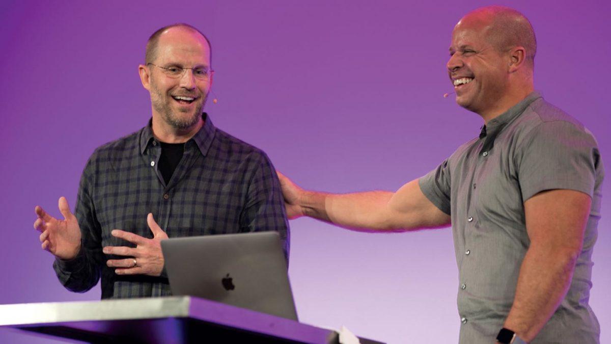 Dean Hager von Jamf und Brad Anderson von Microsoft (Copyright Jamf)