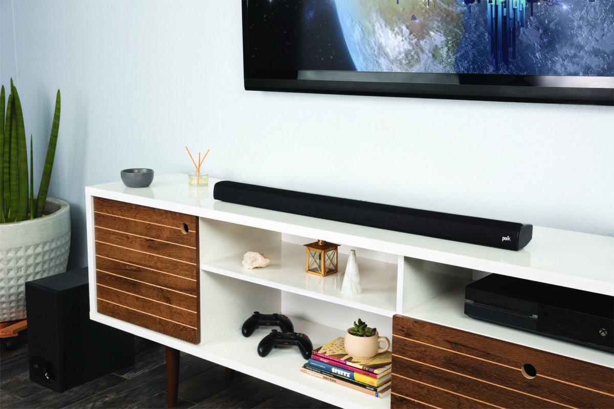 Signa S2: Vielseitige TV-Soundbar mit Wireless-Subwoofer von Polk Audio