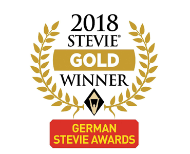 Gold Stevie Award 2018 Schwartz PR