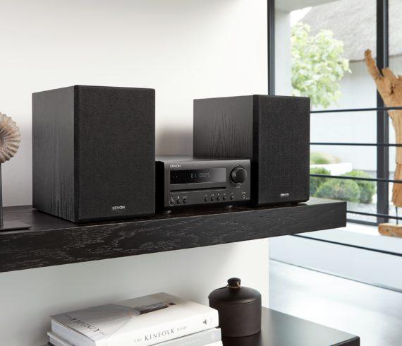 Ultra-kompaktes Hi-Fi-System D-T1 von Denon