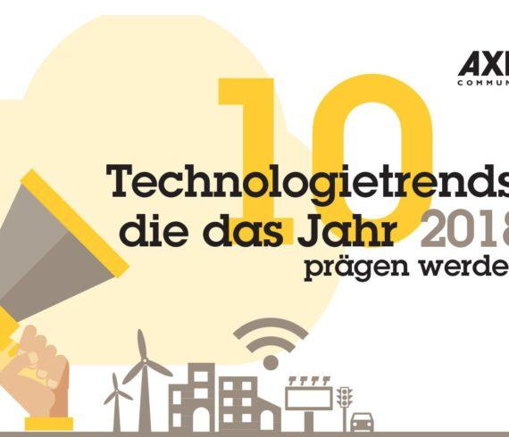 Axis präsentiert die 10 Tech-Trends des Jahres